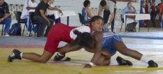 La avileña Yudaris Sánchez se agenció el metal bronceado en el Torneo Internacional de Lucha Granma-Cerro Pelado.